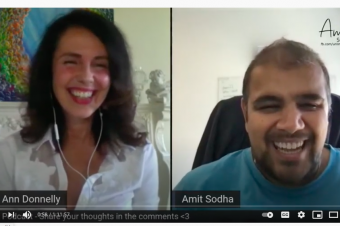 Amit Sodha expert dating coach interviews Dr Ann regarding dating and much more